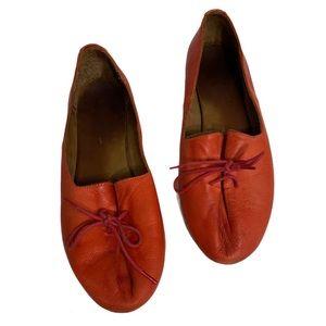 Miz Mooz Terracotta Flats size 38